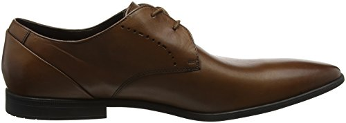 Bampton Marrone Tan Derby Stringate Lace Clarks Leather Uomo Scarpe SYZqSd
