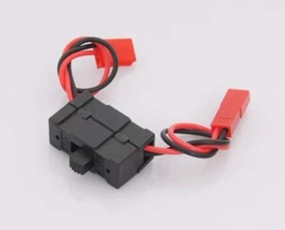 HATCHMATIC 1pc On/Off 02050 HSP 1/10 1/8 Parts JST Connector Receiver Switch 4WD Nitro Power RC Car Buggy Truck RC Parts
