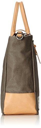 Clarks the Gray, Bolsa de Asa Superior para Mujer, Gris (Grey Canvas), 14x36x45 cm (B x H x T)