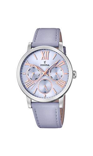 Festina Womens Analogue Quartz Watch with Leather Strap F20415/3
