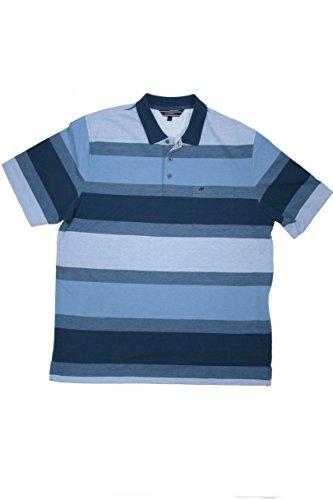 HS Navigazione Poloshirt Kurzarm 1/2 Arm 13500 blau gestreift