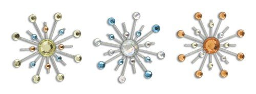 Karen Foster Design Sparkle Burst Brads, 6 ()