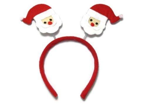 Christmas House Springy Santa Claus Christmas Headband 9 In. - 1/pkg.]()