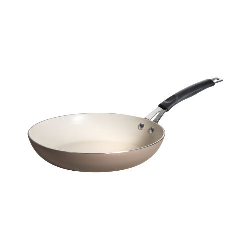 Tramontina 80151/063DS Style Simple Cooking Heavy-Gauge Aluminum, PFOA-free Nonstick Fry Pan, 10-Inch, Truffle, Made in USA ()