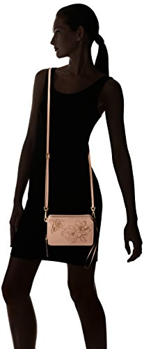 Mallory Crossbody One Bradley Pink All RFID Leather Sand Vera in AwYq5C45x