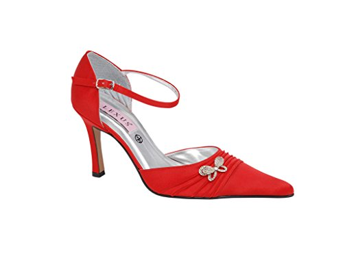 LEXUS - Sandalias de vestir para mujer Rojo - rojo