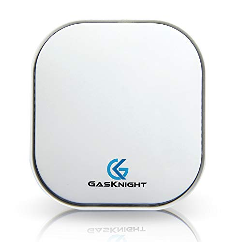 GasKnight Natural Gas Detector and Propane Detector. Natural Gas Alarm and Monitor for Home, Kitchen, Camper, Trailer or RV. Plug-in Gas Leak Sensor for LPG, LNG, Methane & Butane Gases w FREE EBOOK!