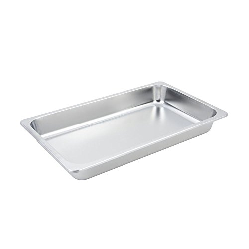 Bon Chef 12005 Stainless Steel Food Pan, 2 gal Capacity, 21'' Length x 13'' Width x 2-3/4'' Height by Bon Chef