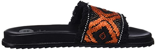 con Plataforma Black Sandalias Mujer 45335 Gioseppo para Negro vEPAwq