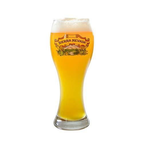(Sierra Nevada Brewing Company Kellerweis Hefeweizen Wheat Beer Glass)