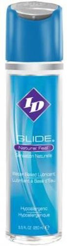 Siam Circus Wholesale ID Glide Natural Feel Water Based Personal Lubricant Lube 8.5 oz