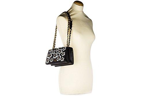 Moschino sac à l'épaule femme en cuir noir