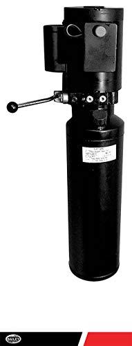 Maxim Hydraulic Power Unit AC AUTO Hoist Manual Valve 3.5 Poly Gallon Tank 110 Volt, - Tank Gallon Poly