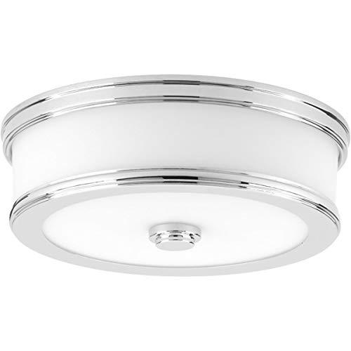 Progress Lighting P350085-015-30 Bezel LED Flush Mount, Polished Chrome