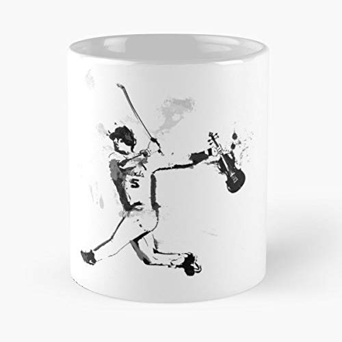 (Baseball Violin Violinist Virtuoso - Coffee Mugs Best Gift Unique Ceramic Novelty Cup)