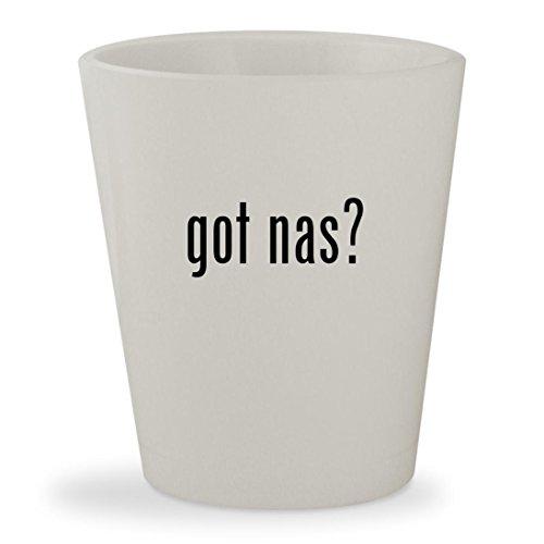 got nas? - White Ceramic 1.5oz Shot Glass (Milegi Poster Dobara Na Zindagi)