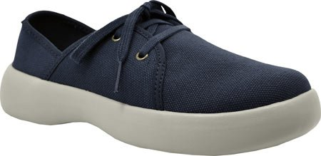 Lace up Firefly SoftScience Women's Canvas Blue qZB08w
