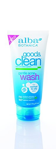 Clean Easy Facial Waxer (Alba Botanica Good and Clean Gentle Acne Wash, 6 Ounce)