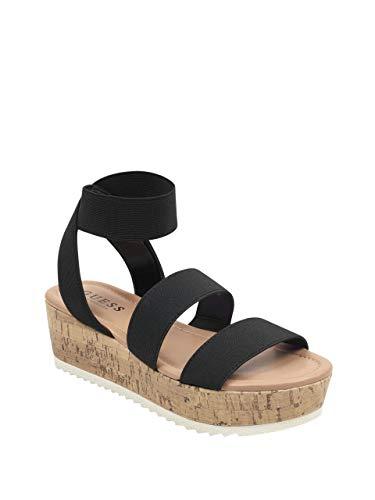 GUESS Factory Alexie Platform Sandals