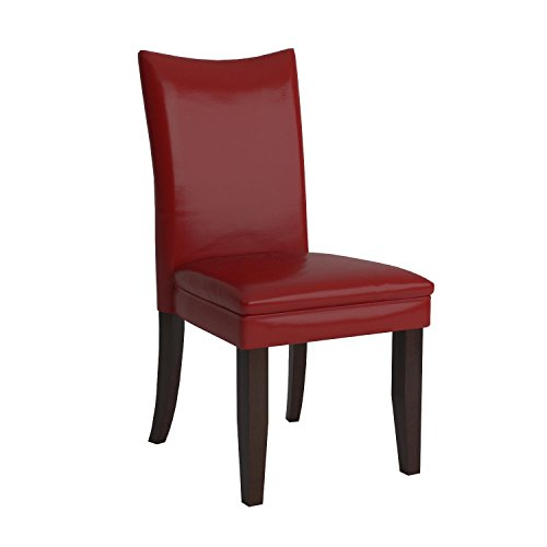 Ashley Furniture Signature Design - Charrell Dining Side Chair - Set of 2 - Red by Signature Design by Ashley (Image #7)