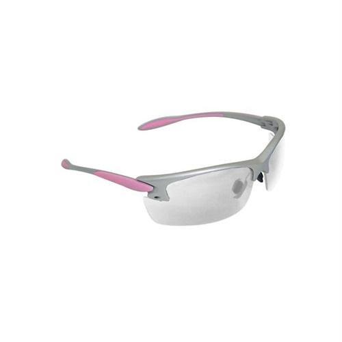 Radians Womens Sht -Af Clr Lens/Sil & Pnk - Clear Lens Frm