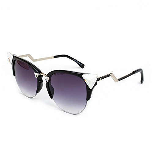 HaiBote Cat Triangular Crystal Mirror Sunglasses Influx Of - Who Invented Lens Bifocal