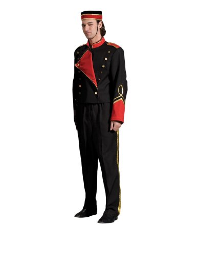 Men's Bellhop Theater Costume, Large -