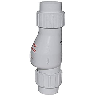 "2"" PVC Quiet Union Check Valve from Zoeller"