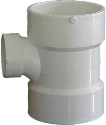 Genova Products 71143 Reducing Sanitary Tee Pipe Fitting