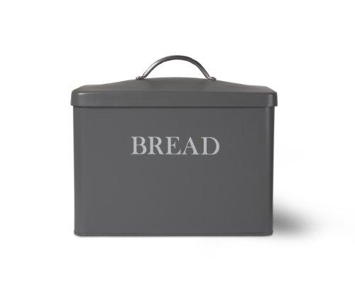 Garden Trading Bread Bin - Charcoal by Garden Trading