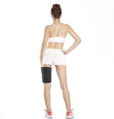 Body Wraps for Slimmer Thighs Sauna Sweats Lose Thigh Fat & Reduce Cellulite Body Shaper Support Leg Stretch Neoprene 1 Pair