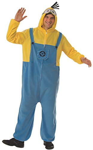 Rubie's Men's Despicable Me 3 Minion Adult Costume Onesie, As As Shown, -