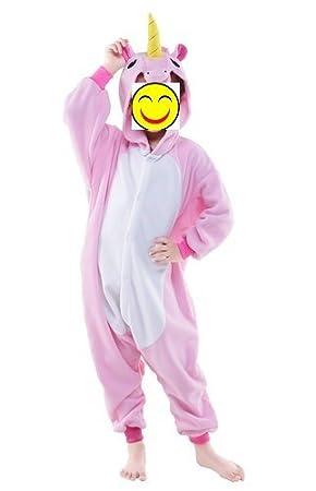 misslight - Pijama de Unicornio para Mujer, Traje de ...