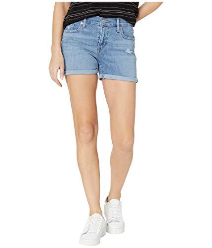 Levi's Women's Mid-Length Shorts, Damaged Goodies, 24 (US 00) - Mid Length Jeans