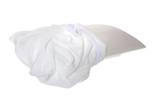Terry Cloth Cover For Better Sleep Pillow Memory Foam Ver...