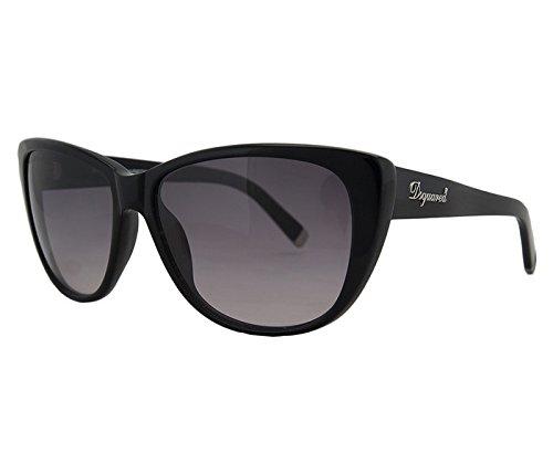 Dsquared2 Sunglasses DQ 0080 BLACK 01V - Sunglasses Dq