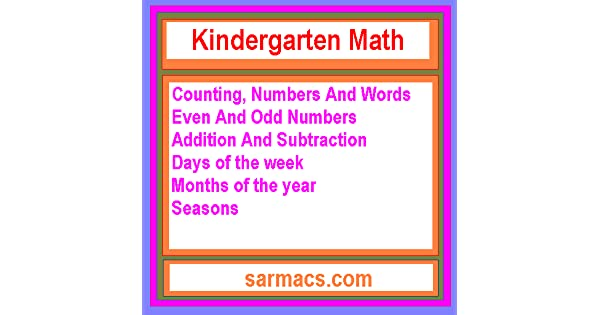Amazon.com: Kindergarten Math: Appstore for Android