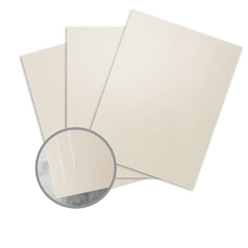 ESSE Pearlized Latte Card Stock - 18 x 12 in 105 lb Cover Smooth Digital C/2S 30% Recycled 250 per Package by Neenah