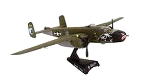 Daron Postage Stamp USAF B-25J Mitchell Betty's Dream Vehicle (1/100 Scale)