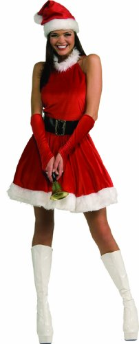 Secret Wishes Santa's Inspiration Costume, Red, Small by Secret Wishes