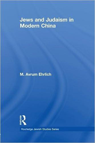 Jews and Judaism in Modern China
