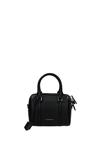 39259061 Burberry Bowling Bags Women Leather Black