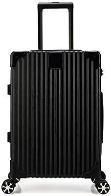 8ab24cbcb1e8 Kroeus ABS Rolling Luggage Suitcase Spinner Wheels TSA Lock 20 Inch ...