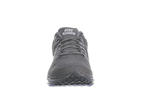 Nike Uomo Zoom All Out Basse Nylon Scarpe da Corsa Grigio Scuro/Grigio Lupo / Platino Puro