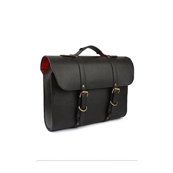 RIDAR Bike Waterproof High Quality Handbag Style Side Saddle Bag Black for Royal Enfield