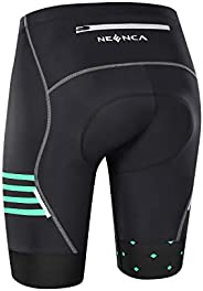 NEENCA Men's Bike Cycling Shorts with 4D Sponge Gel Padded, Cycling Underwear Pants, Bicycle Riding Tights