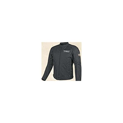 Honda Mens Gold Wing Textile Touring Street Motorcycle Jacket, Black, X-Large