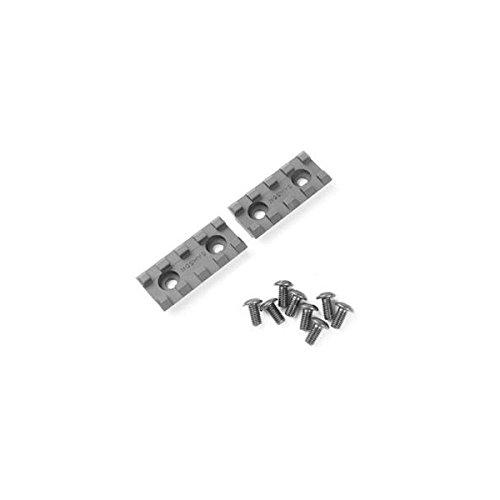 Samson 2_Rail_Kit 2'' Rail Sections for Evolution Rail Handguard Black - 2 Pack by Samson Manufacturing