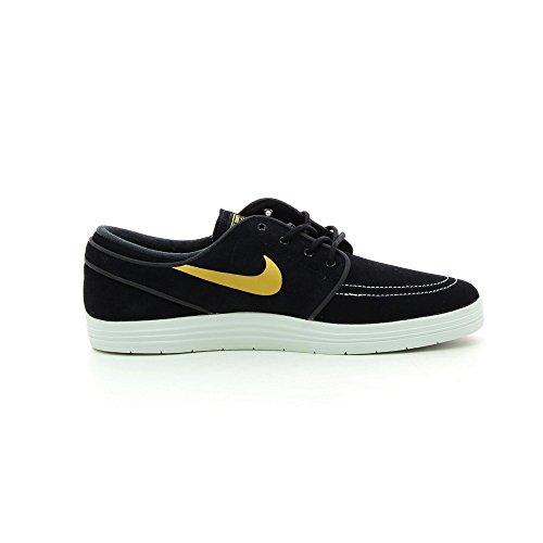 Nike Mens Månens Stefan Janoski (13 D (m) Oss, Svart / Metallisk Guld)