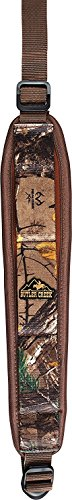 Neoprene Sling - Butler Creek Comfort Stretch Rifle Sling with Swivels, Realtree Xtra